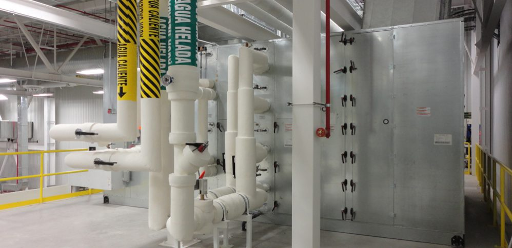 fugas de aire en ductos de cuartos limpios